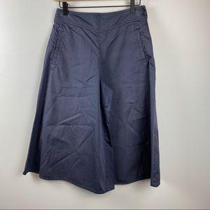 TOAST Super Wide Leg Crop Capri Pants